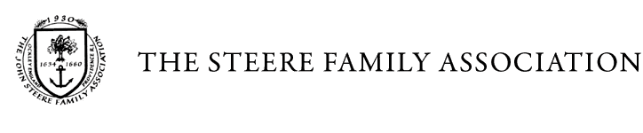 Steere Family Association Header